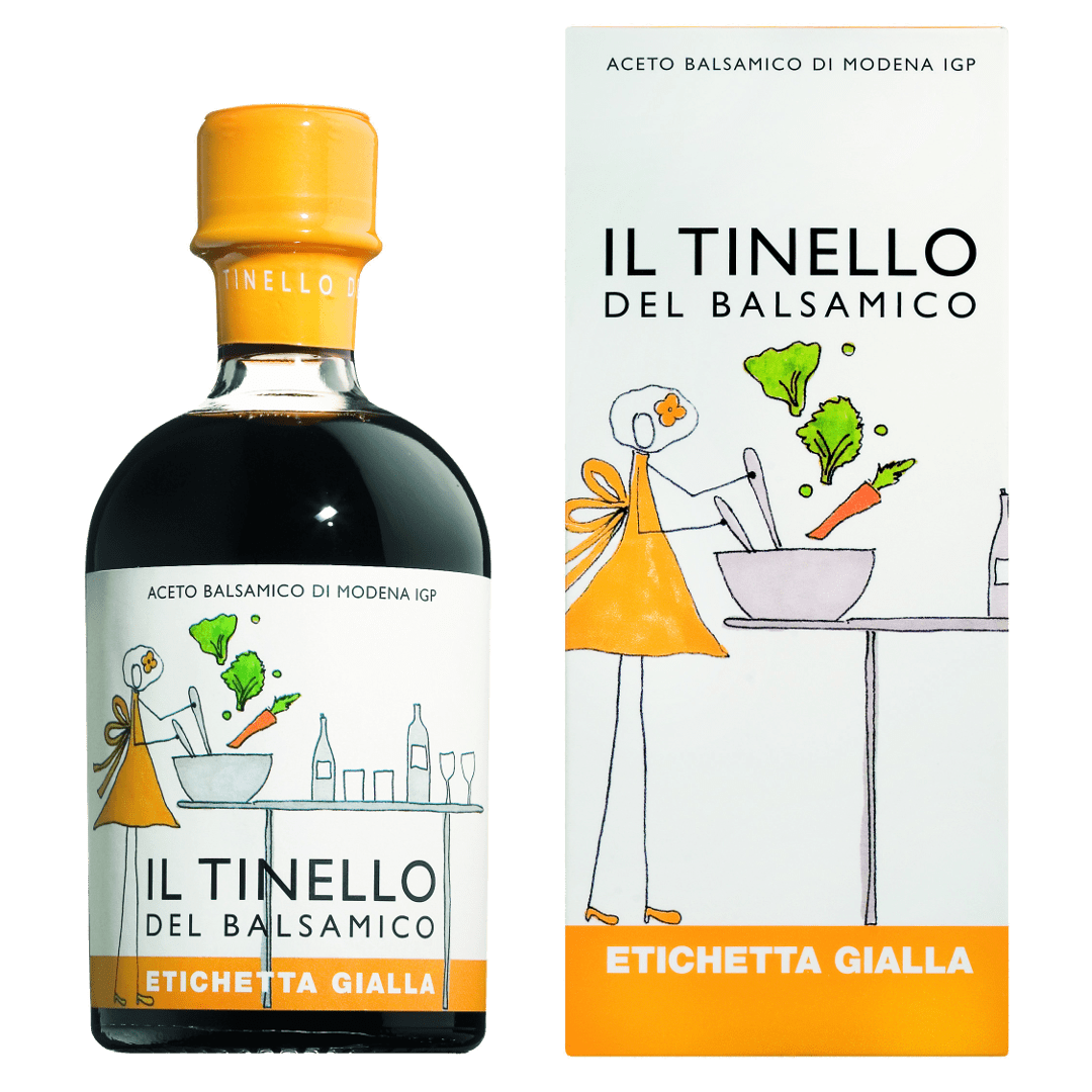 ACETO BALSAMICO IGP TINELLO ET.GIALLA